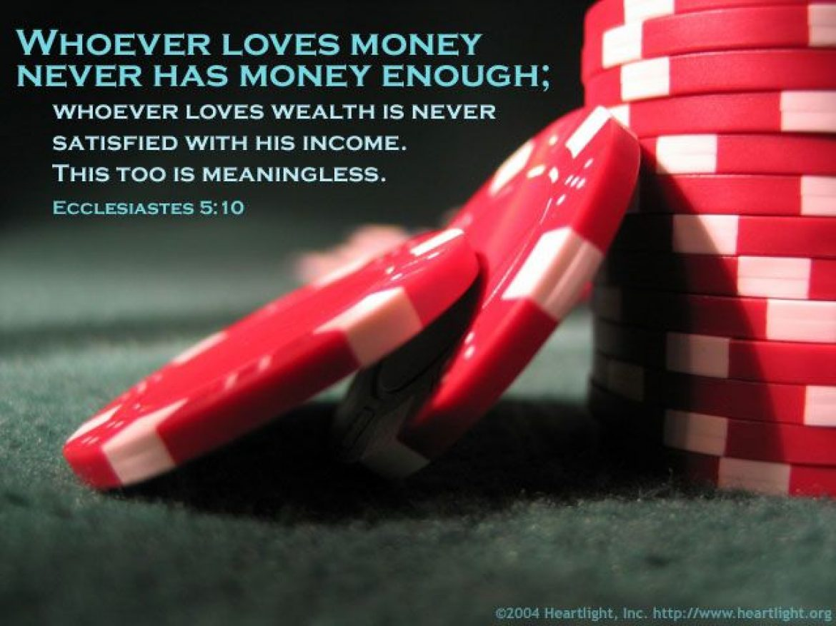 Money can't buy love?